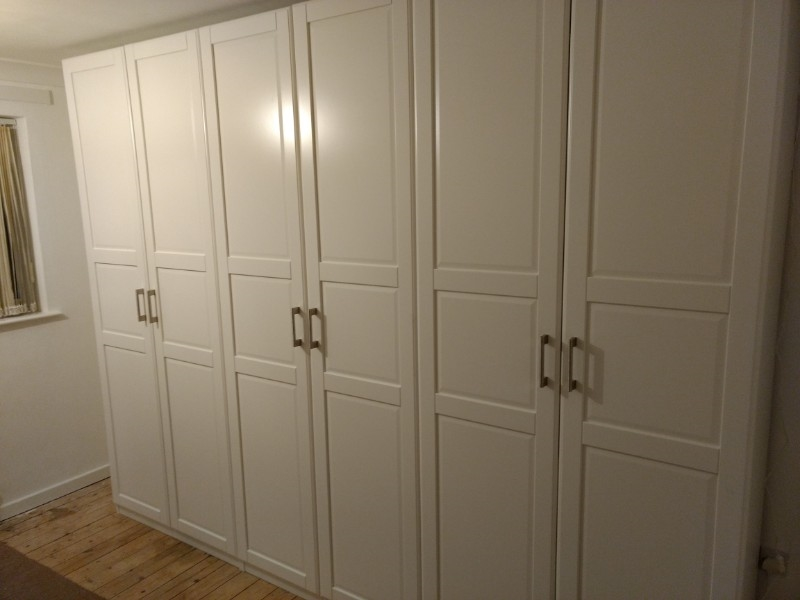 finished wardrobes